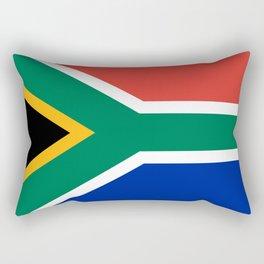 South Africa Flag Rectangular Pillow