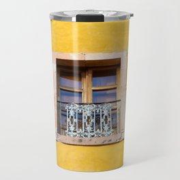Ventana con marco de piedra Travel Mug