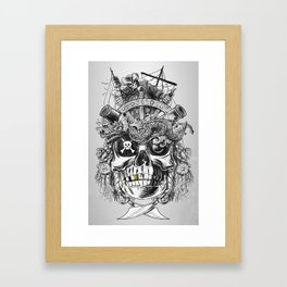 No Quarter Framed Art Print
