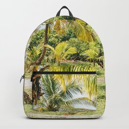 palm trees hammocks tropics summer bahamas Backpack