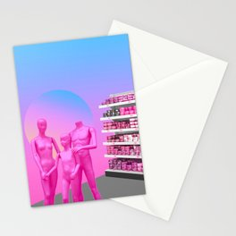 Family in Walmart Stationery Cards