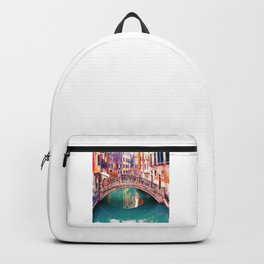 Small Bridge in Venice Backpack