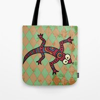 lizard Tote Bags featuring Lizard by Sproot