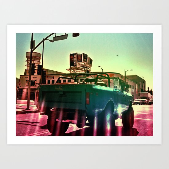 Cahuenga Monster Art Print