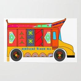 Truck Art Rug