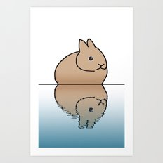 rabbit-6 Art Print
