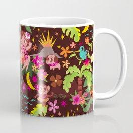Hula Cuties Pattern Coffee Mug