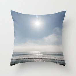 Beautiful Pacific shore vista near Point Mugu Throw Pillow