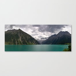 Schlegeis Lake, Austria   Panorama Canvas Print