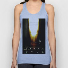Moses Hyper Flame 01.; A.i.; Tech. Unisex Tank Top