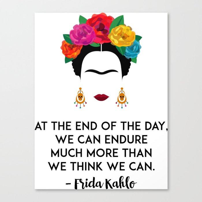 Frida's Strength Leinwanddruck