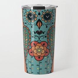 Owl matreshka Travel Mug