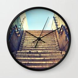 This Way Up Wall Clock