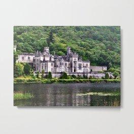 Kylemore Abbey, Galway, Ireland Metal Print