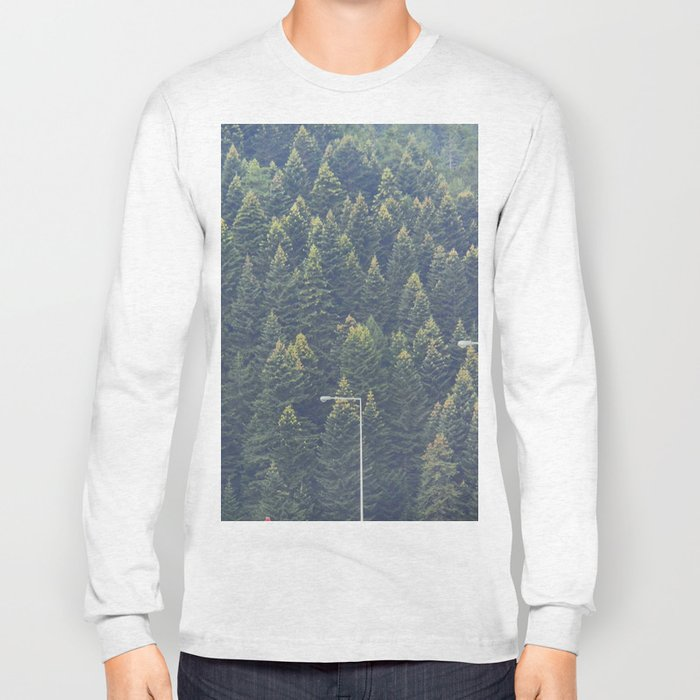 Forest autumn greece Long Sleeve T-shirt