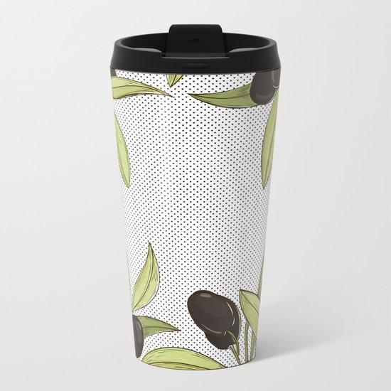 Olive Comfort Metal Travel Mug