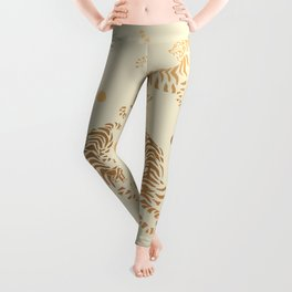 Golden Tigers III Leggings