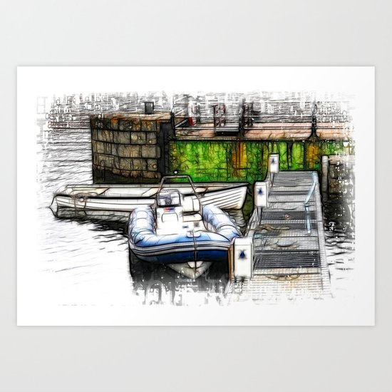 Piers End Art Print