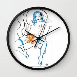 Personal Pizza Wall Clock