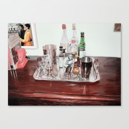 An Old Fashioned, Please? Canvas Print