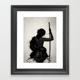 Female Samurai - Onna Bugeisha Framed Art Print