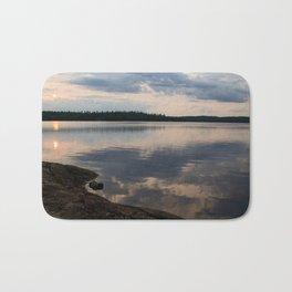 Lake Reflection Bath Mat