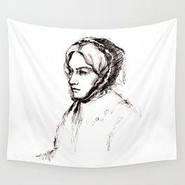 Museum Sketch: Feuerbach Wall Tapestry