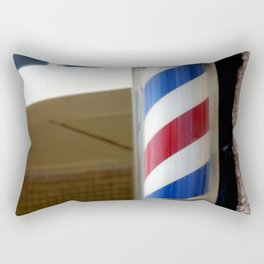Barber Sign Rectangular Pillow