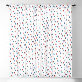 Popsicle Pattern - Slanted Rocket Pop #102 Blackout Curtain