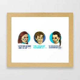 Tears for Fears Framed Art Print