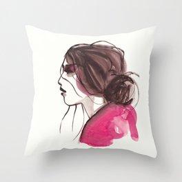 Womn Ink 13 Throw Pillow