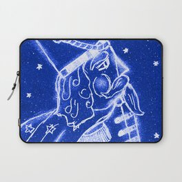 Nutcracker in Bright Blue Laptop Sleeve