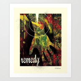 Remedy Art Print