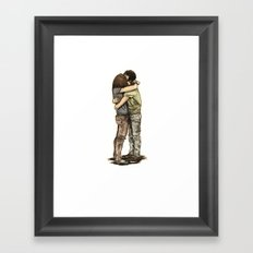 N & C Framed Art Print