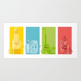 Signs Art Print