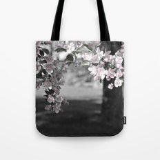 Crab Apple in Pink Tote Bag