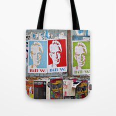 A Bill Among Playbills  Tote Bag