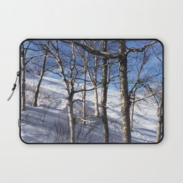 Sunny on the Slopes Laptop Sleeve