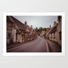 little quiet village Art Print