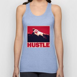 The Worm: Hustle Unisex Tank Top