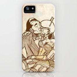 Lazing on a Sunday Afternoon iPhone Case