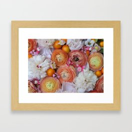 Flower Design 13 Framed Art Print