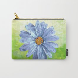 Crystal Flower Carry-All Pouch