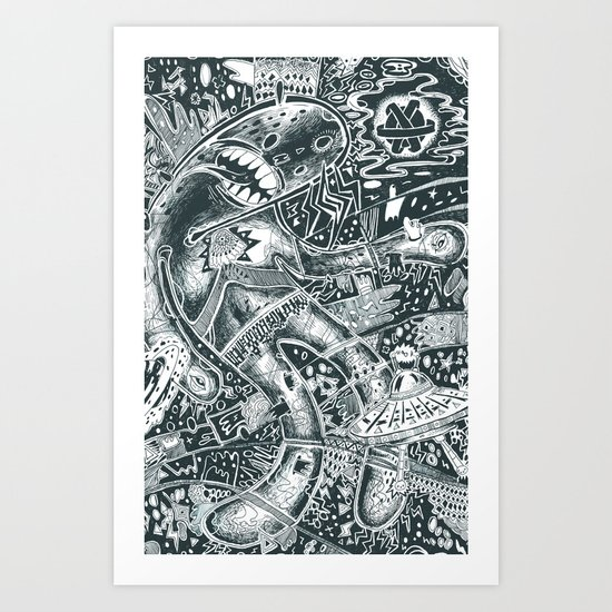 void party Art Print