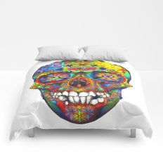 Skull of Life Comforters