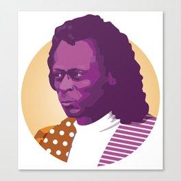 Jazz legend Canvas Print