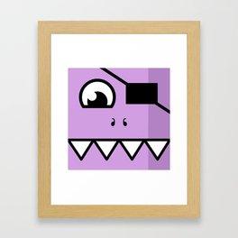 Monsters⁴ : Purple Framed Art Print