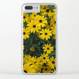 Black-Eyed Susan Bouquet Clear iPhone Case
