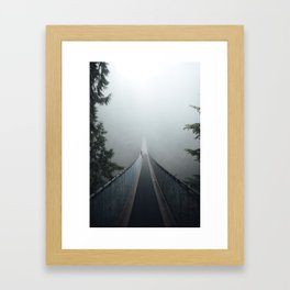 Bridge To Adventure Framed Art Print