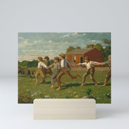Snap the Whip by Winslow Homer, 1872 Mini Art Print